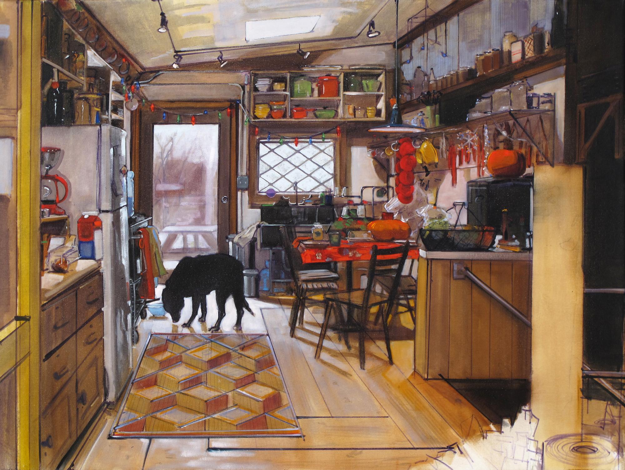 Kitchen Creativity: Judy Pfaff