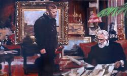 Critique: VanGogh and Uncle Mauve