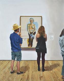 Alice Neel: Andy Warhol / Whitney