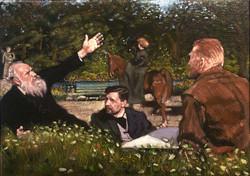 Relationships: VanGogh,Pissarro,Theo
