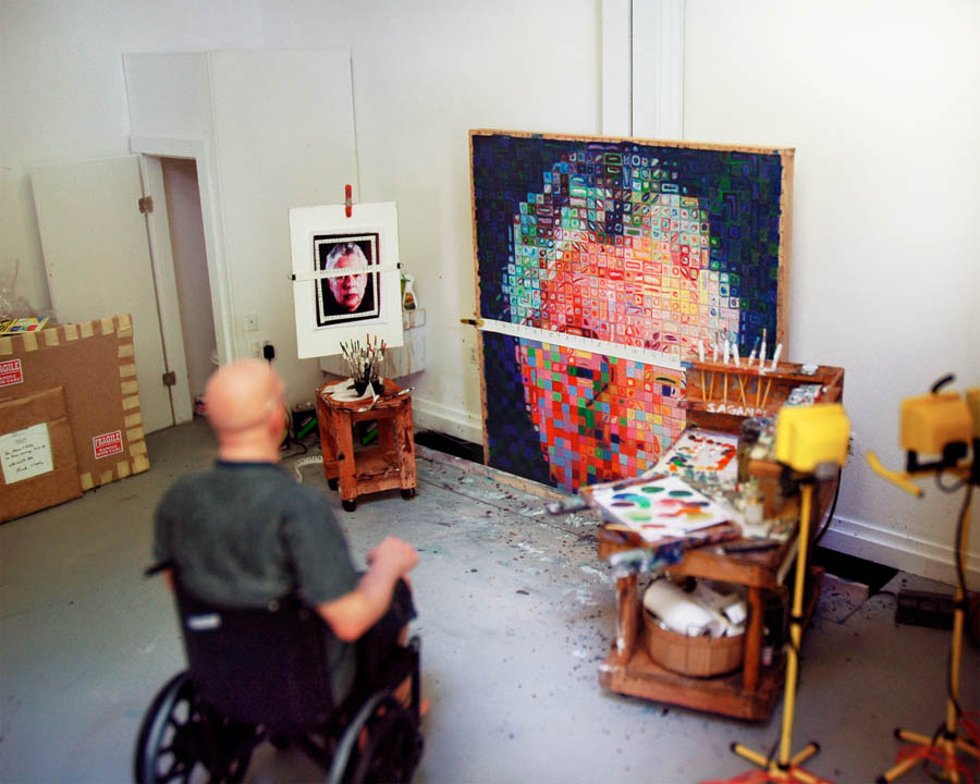 ChuckClose: Summer 2004 #2
