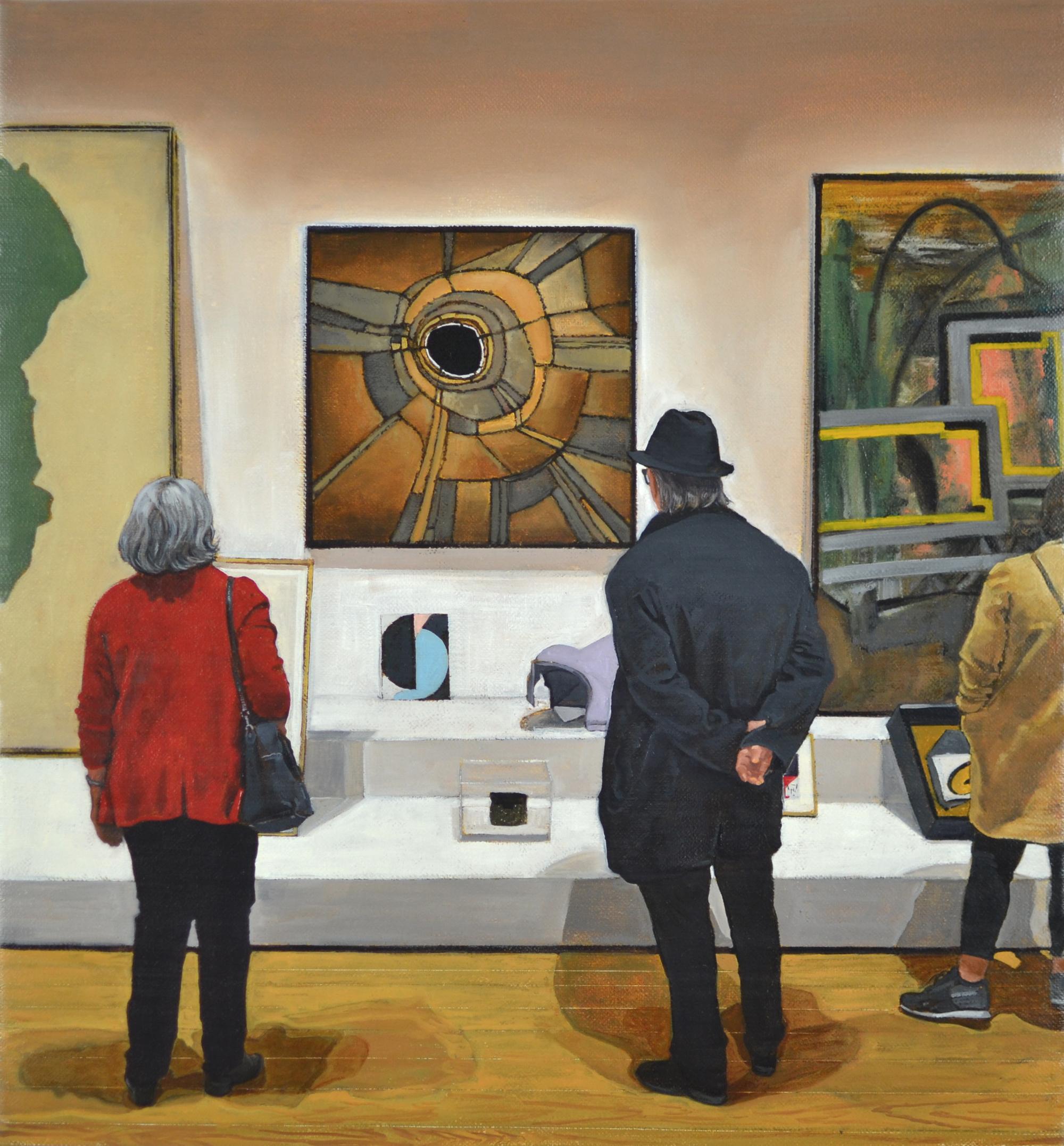 The Shape of Shape, Artist's Choice: Amy Sillman (Frankenthaler, Bontecou, Oehlen, Müller, Duchamp,