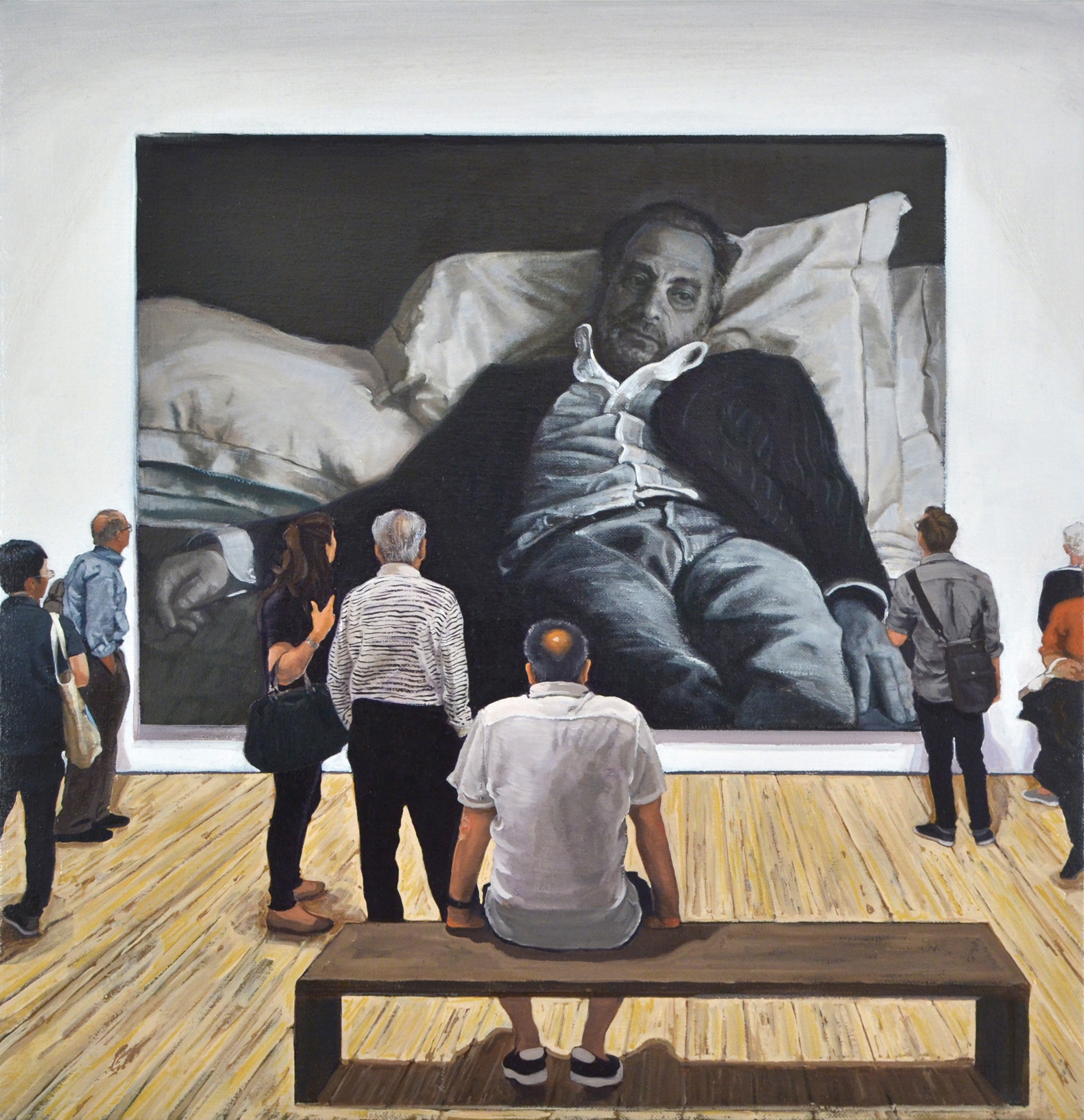 Rudolf Stingel: Untitled (After Sam) / Whitney