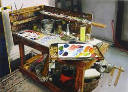 Chuck Close Table 2