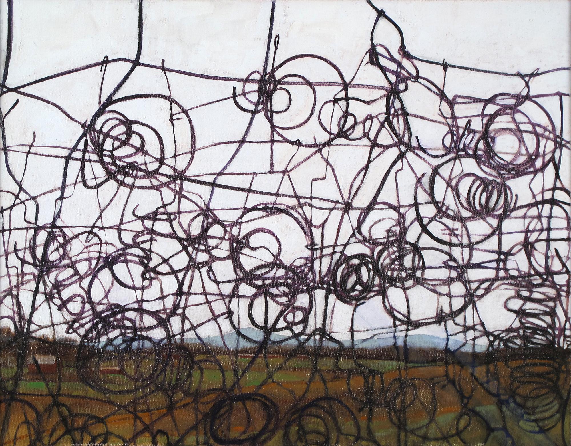 Landscape w/ Bedsprings: Judy Pfaff