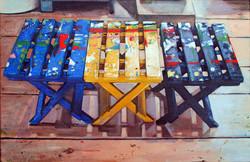Benches: Mary Heilmann