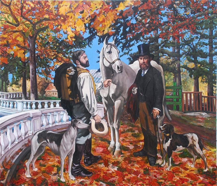 Meissonier Meets Manet in Tuileries