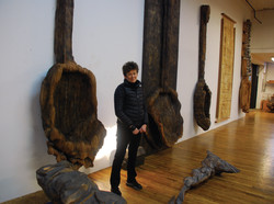 Ursula VonRydingsvard,Bushwick 2013
