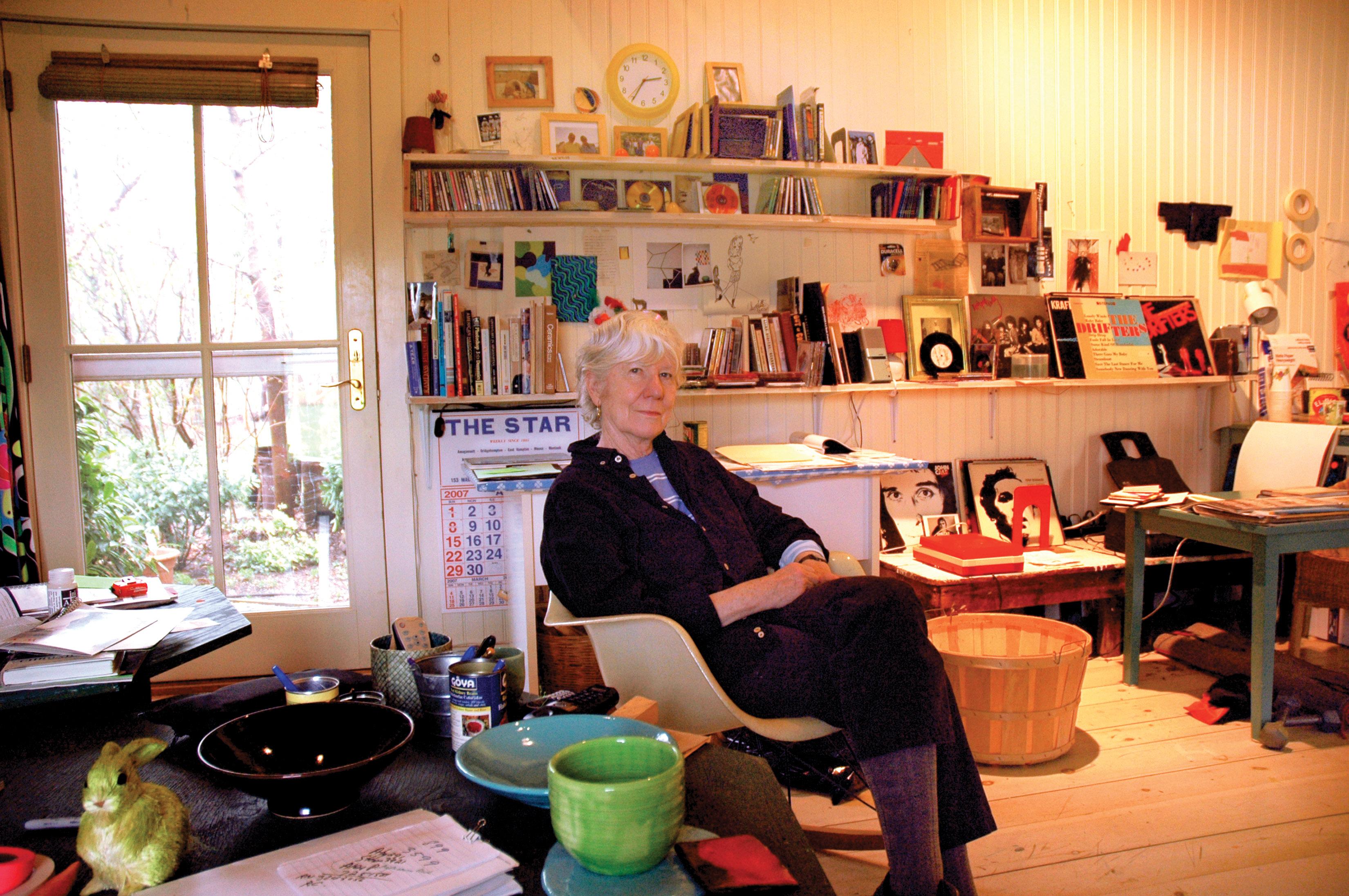 Mary Heilmann, Bridgehampton 2007