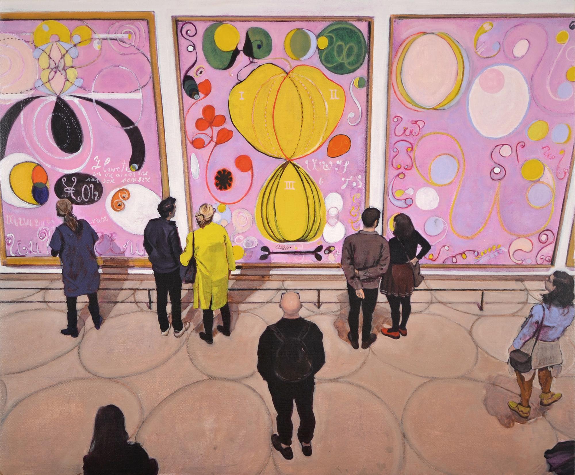 Hilma af Klint: The Ten Largest, Adulthood  # 6, 7 & 8 / Guggenheim