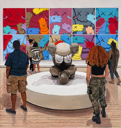 KAWS: What Party (Urge and Separated) / Brooklyn Museum