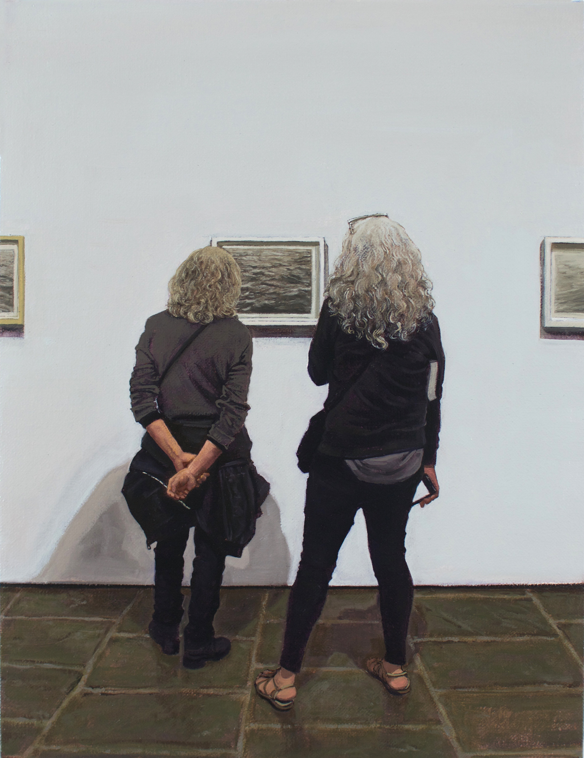 Vija Celmins / Met Breuer (Arrangement in Grey and Black)