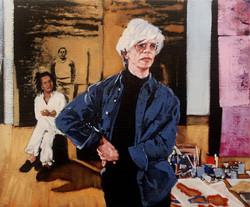 Contemplation: Warhol and Basquiat