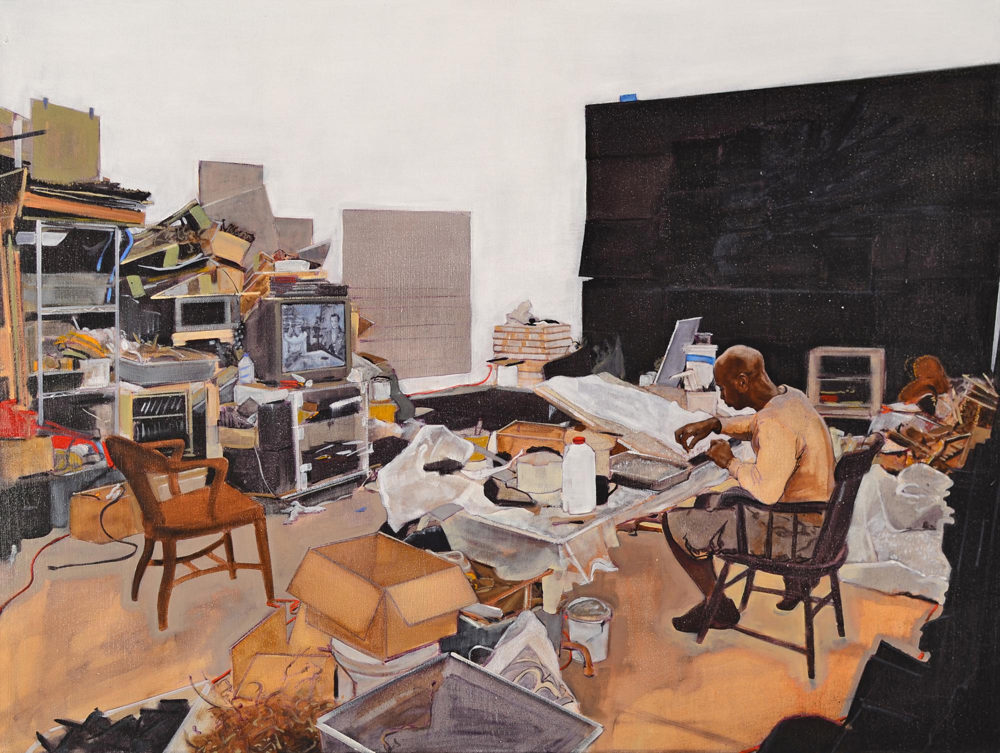 Working: Leonardo Drew