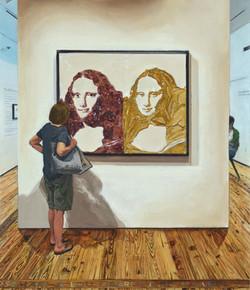 Vik Muniz: Double Mona Lisa (Peanut Butter & Jelly) / Sarasota Art Museum