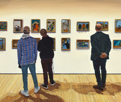 Jacob Lawrence: Migration Series (even numbers) / MoMA