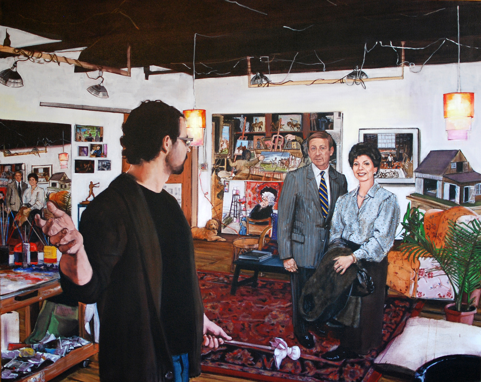 A Studio Visit: John and Ronnie Shore