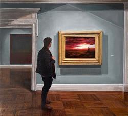 Rothko and Church / Mnuchin Gallery