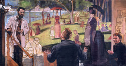 Critique: VanGogh, Seurat, Bernard