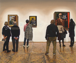 Max Beckmann: 3 Self Portraits / Met