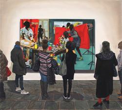 Kerry James Marshall: The Studio / Met Breuer
