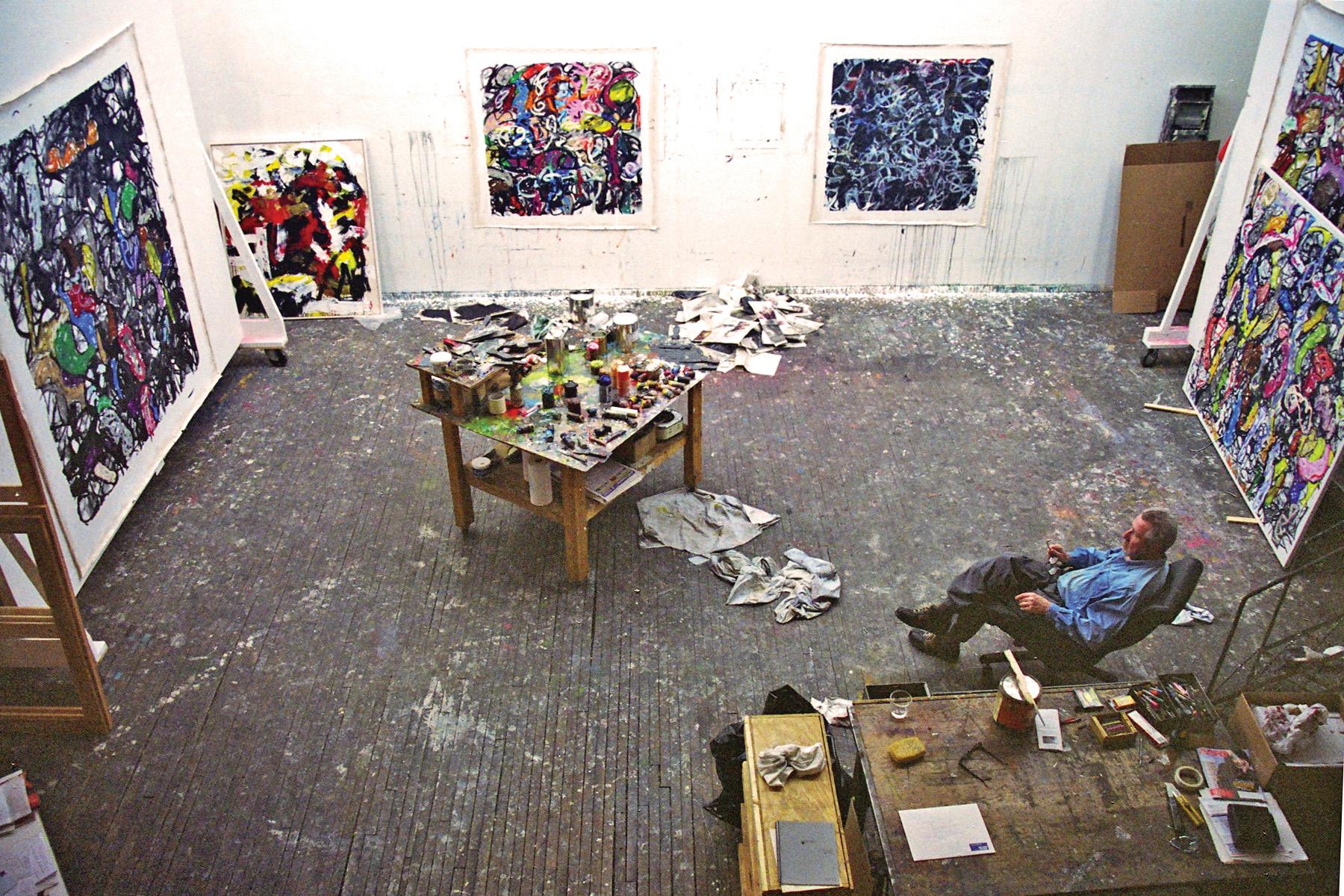 Michael Goldberg, The Bowery 2002