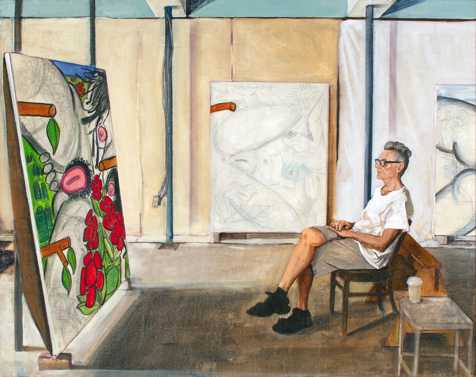Contemplation: Carroll Dunham