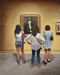 Picasso: Gertrude Stein / Met