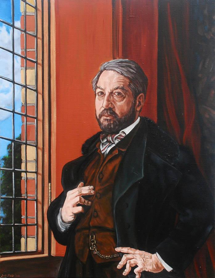Portrait de E. Meissonier