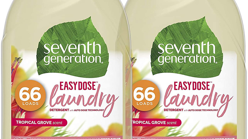 Laundry Detergent (66 load, 2 pack, Scent Varies)
