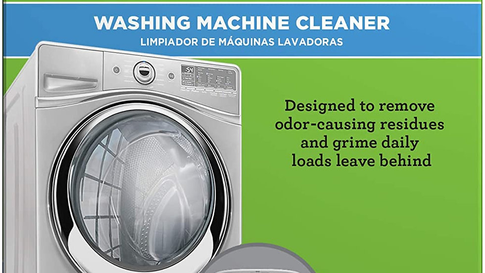 Washing Machine Cleaner (6 tablets)