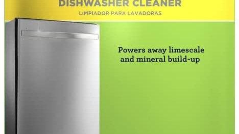 Dishwasher Cleaner (6 Tablets)