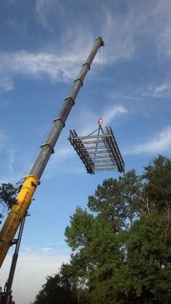 Working on the Ocklawaha Bridge