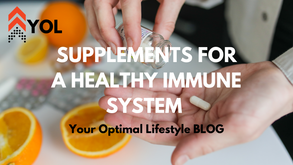 Supplements for a Healthy Immune System