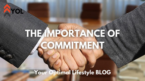 The Importance of Commitment & Representing Yourself in Life / Work