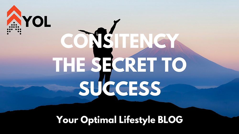 Your Optimal Lifestyle BLOG - Consistency The Secret to Success