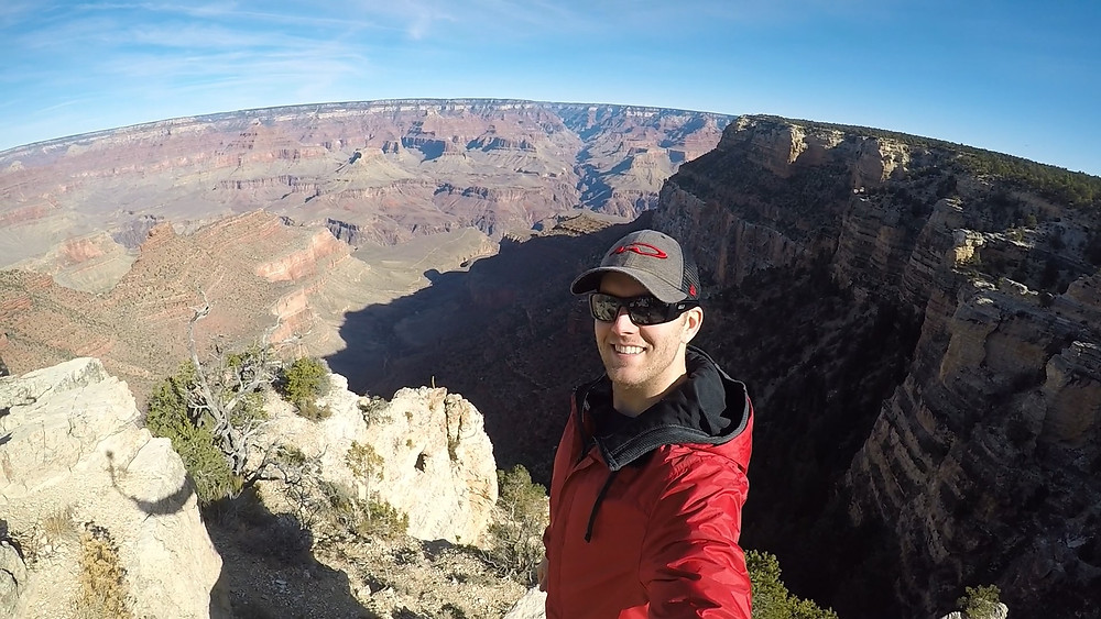 Chris M Wilson found of Your Optimal Lifestyle - The Grand Canyon