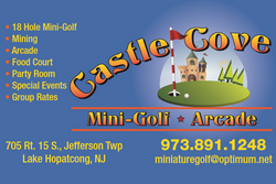 Castle Cove Mini Golf & Arcade