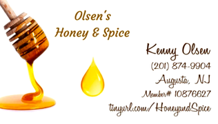 Olsens Honey and Spice