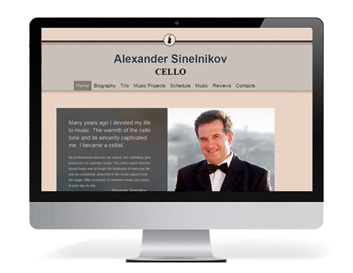 Сайт Александра Синельникова