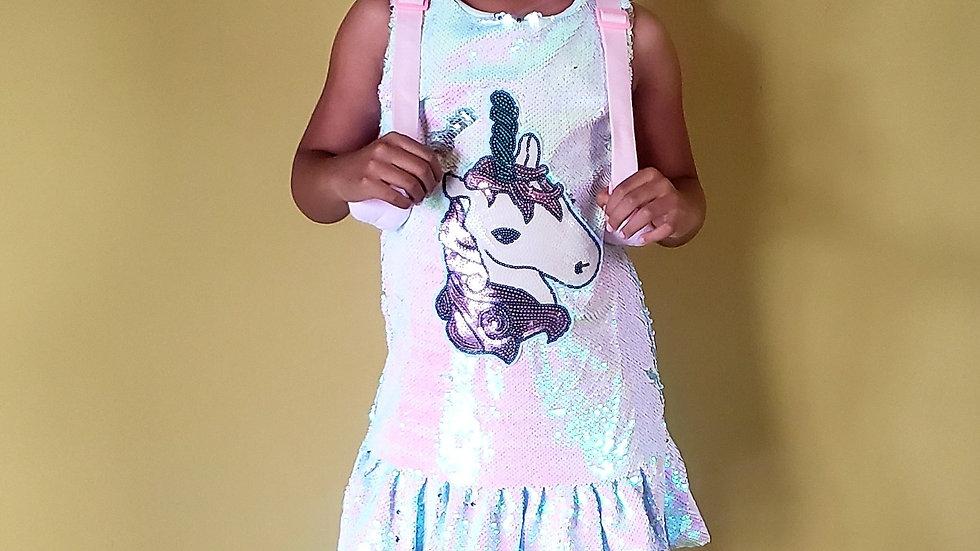 Unicorn Sequins Flip Dress