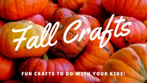 Fun Fall Crafts to Do With Your Kids!