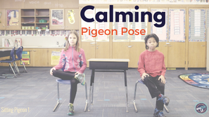 Spotlight on Calming Pigeon Pose for a Quick Break in the Classroom