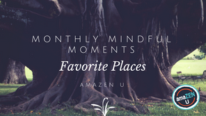 Monthly Mindful Moment – Favorite Places