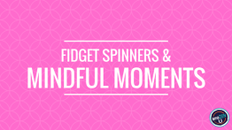 Fidget Spinners and Mindful Moments