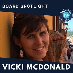 ZENworks Yoga // Meet the Board Member Vicki McDonald