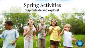 Spring is here – let's play outside!