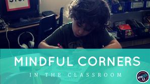 Creating a Mindful Corner