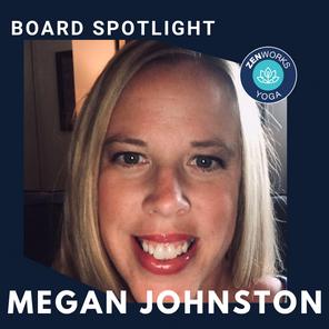 ZENworks Yoga // Meet the Board Member Megan Johnston