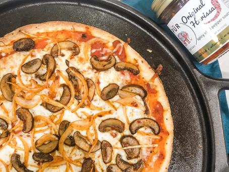 Spicy Harissa Pizza